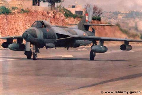 A Lebanese Hawker Hunter