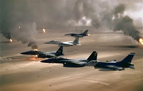 USAF in desert storm