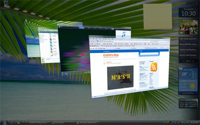 Vista User Interface