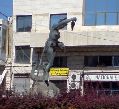 Zahle Statue