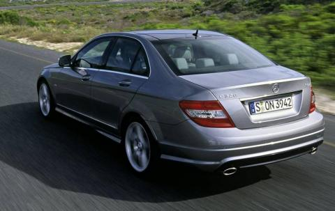 2007 Mercedes-Benz C Class rear