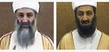 Bin Laden 2004 2007 comparison