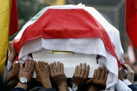 A Funeral in Lebanon