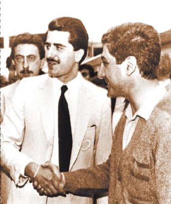 Gebran Tueni And Bachir Gemayel