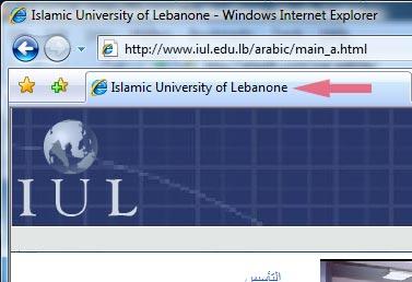 Islamic University of Lebanon
