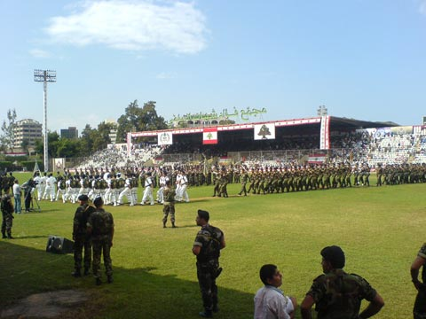 Lebanese Army Celebrations