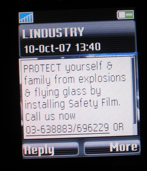 Safety Film