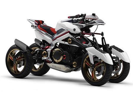 4 wheeled motorcycle