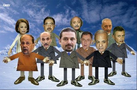 Les Politichiens Libanais