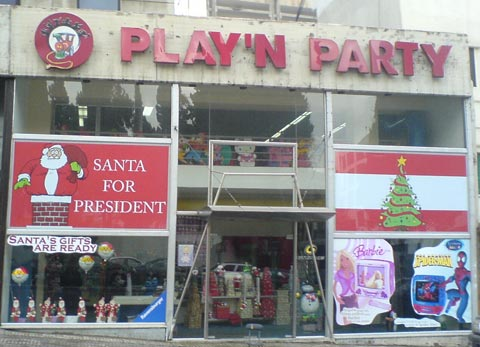 Santa for President, Lebanon