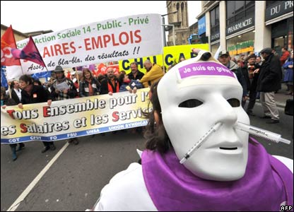 protester france