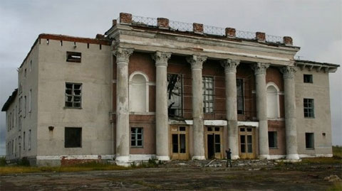 Promyshlennyi abandoned city